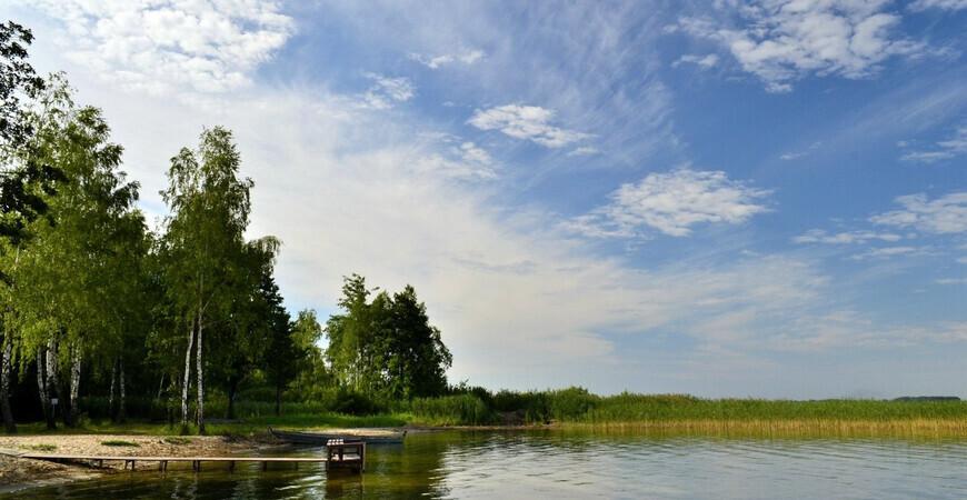 Шацкие озера в Украине