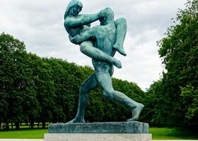 Парковый разврат в Осло