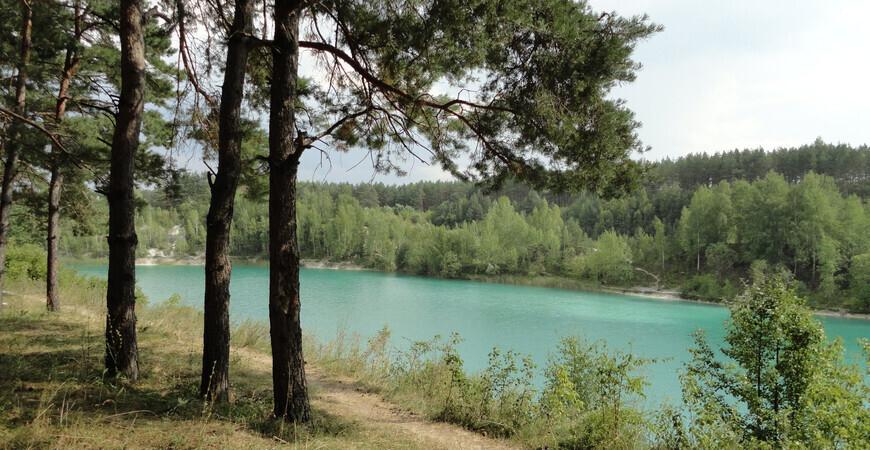Меловые озера в Беларуси