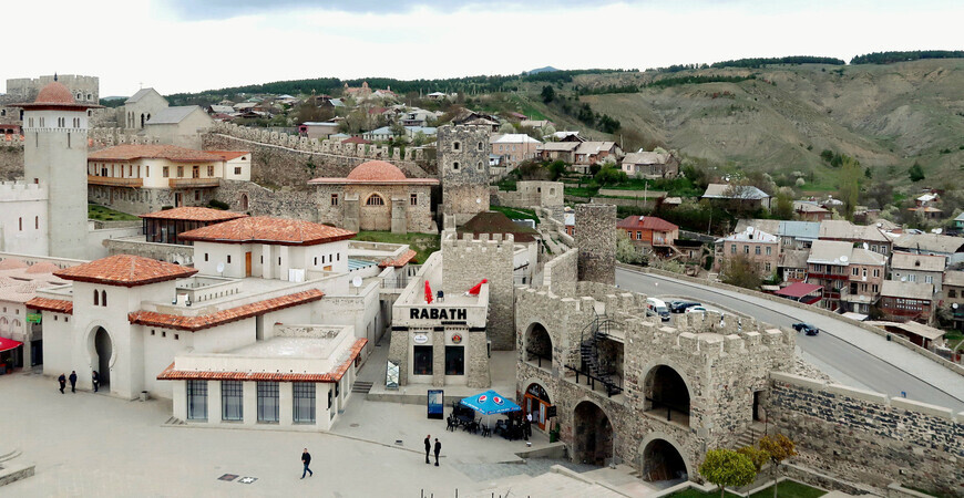 Ахалцихская крепость и замок Джакели