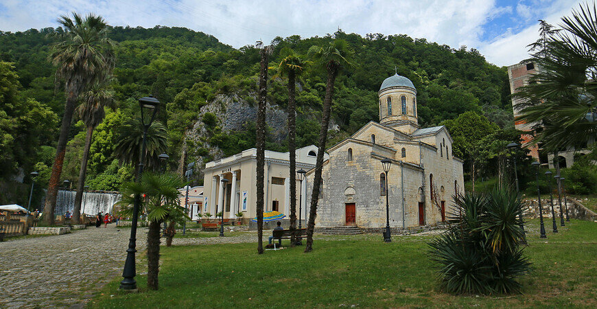 Храм Симона Кананита в Новом Афоне