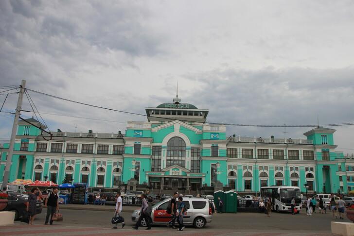 Вокзал Омска