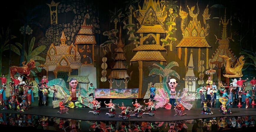 Шоу Сиам Нирамит в Бангкоке (Siam Niramit Show Bangkok)