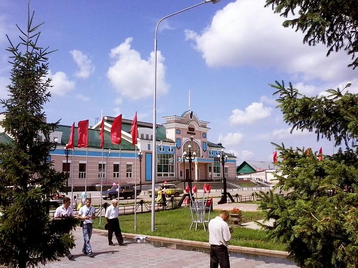 Вокзал Рубцовска