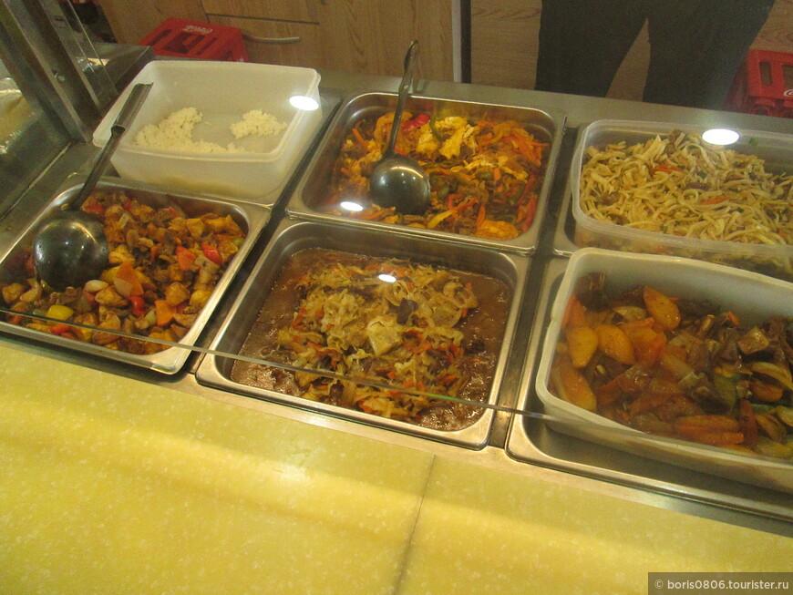 Хорошее заведение с блюдами монгольской кухни