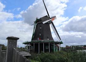 Зандам, ветряные мельницы, Петр I ...