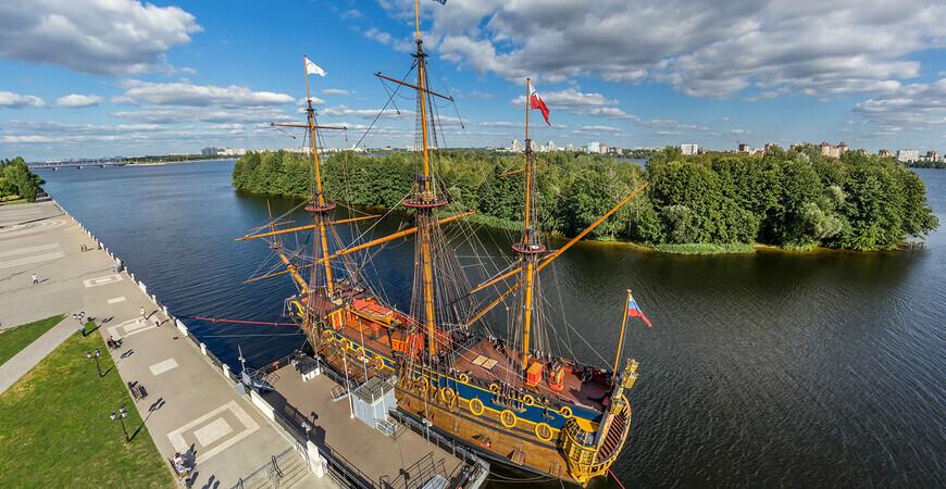 Корабль-музей «Гото Предестинация» Воронежа