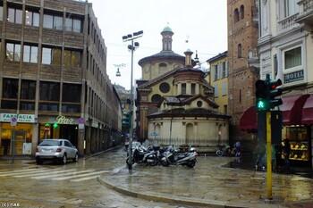 В Италии введён «красный» уровень метеоопасности