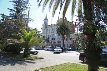 Столица современной Абхазии - город Сухум