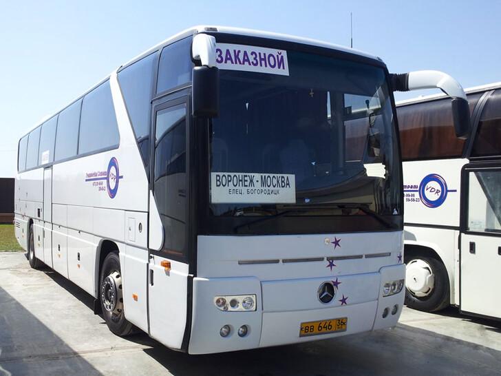 Автобус Москва — Елец