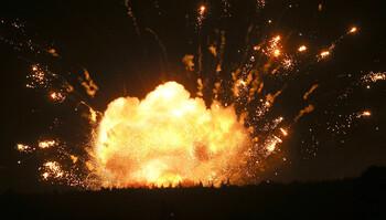 Туристы пострадали от взрывов на военном складе на Северном Кипре