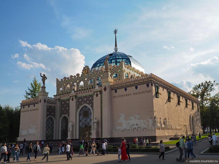 Реновированный павильон Казахстана.  Красота, которой наше поколение раньше и не видело