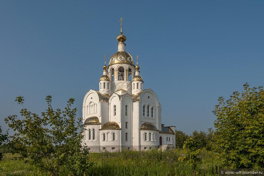 Ступино. Церковь Всех Святых, в земле Российской просиявших (строящаяся)
