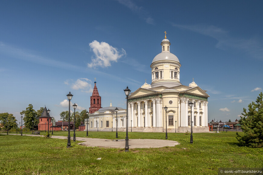 Собор Николая Чудотворца в Епифани 1815-1850 гг
