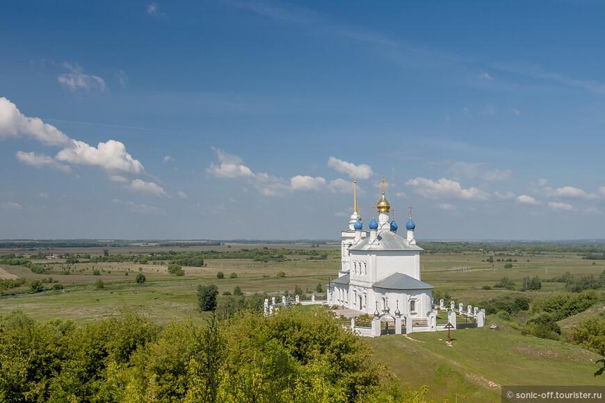 Успенская церковь (кон. XVII - нач. XVIII вв.).