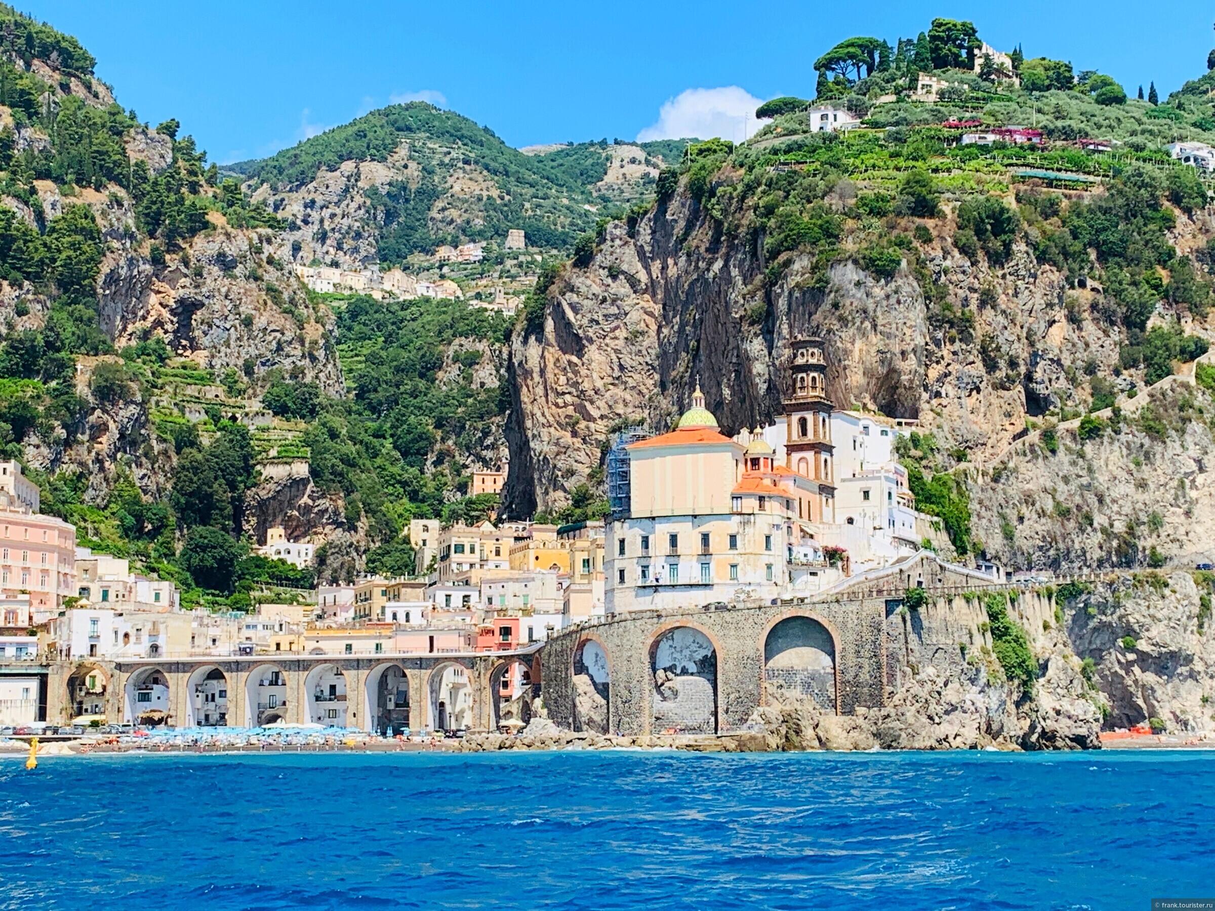 Амальфи. Лазурный берег Италии