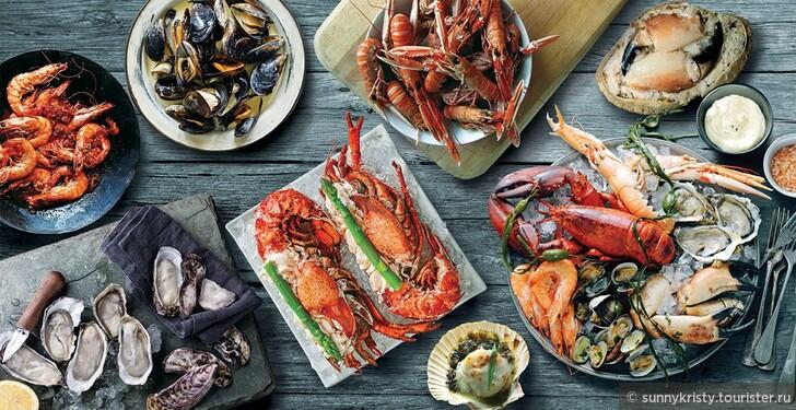 Рестораны морской кухни в Дубае