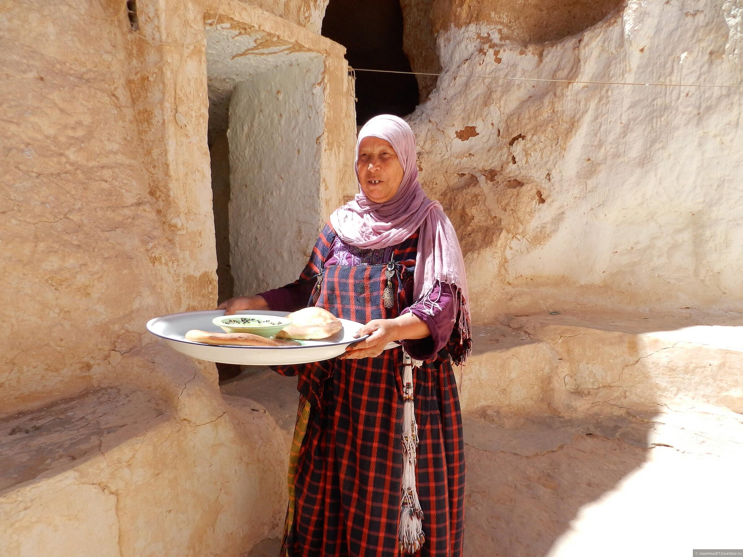 Экскурсия в Сахару. Ч - 2. В гостях у бабушки-троглодитки