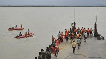 В Индии потерпело крушение судно с туристами: погибли 12 человек