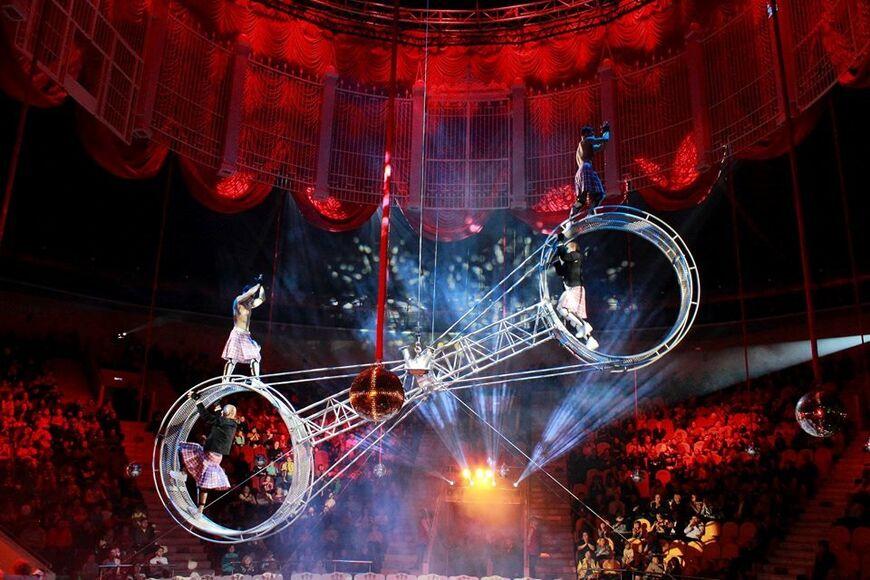 фотостудия арена цирка москва здание бассейн