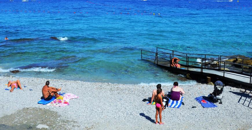 Пляж Марина Гранде, Капри