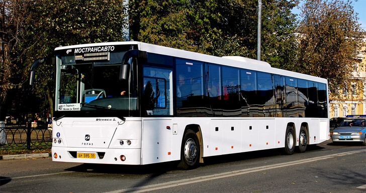 Автобус Подольск — Москва