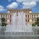 Поющий фонтан в Калининграде