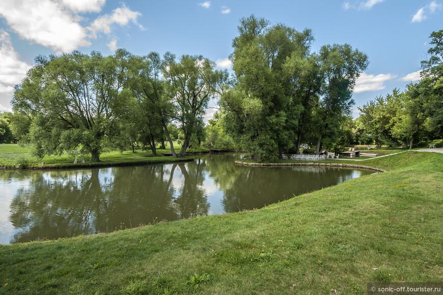 После реставрации большая часть прудов была восстановлена в первозданном виде.