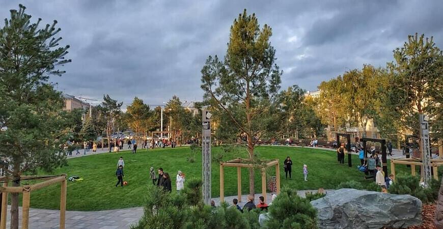 Парк Ангелов в Кемерово