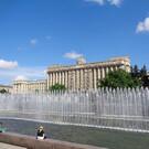 Фонтаны на Московской площади в Санкт-Петербурге