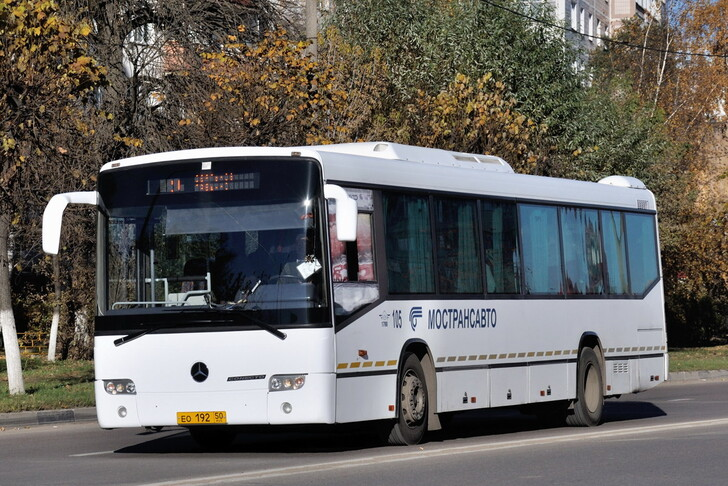 Автобус Москва — Пущино