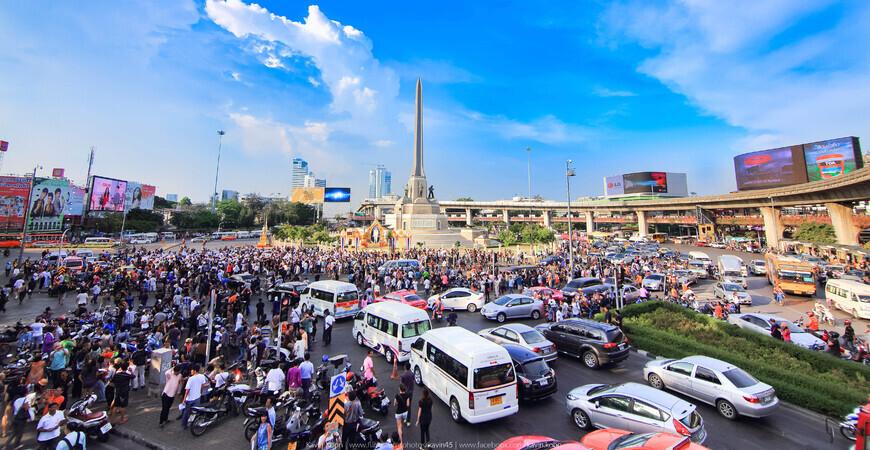 Монумент Победы в Бангкоке (Victory Monument)