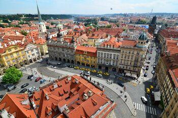 Такси на улицах Праги