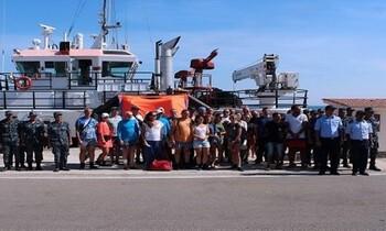 В Египте спасли 26 туристов с дрейфующей яхты