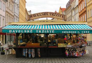 Исторический Гавельский рынок