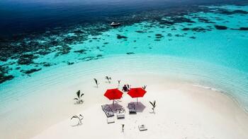 Отель на Мальдивах предлагает арендовать отдельный остров