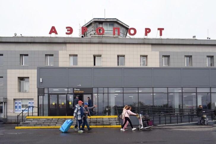 Главный аэропорт Камчатки