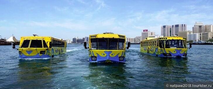 Водная гладь Дубай-Крик как способ передвижения по Дубаю