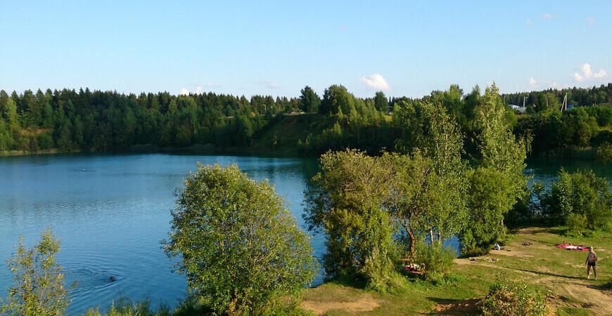 Голубое Озеро в Можайске