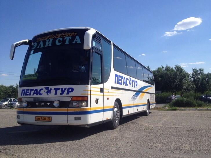 Автобус Москва — Элиста