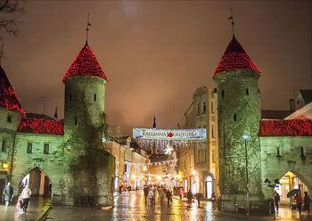Ворота Виру в Старый город