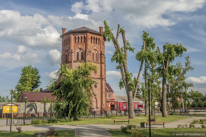 Водонапорная башня в Рамони построена в 1880-х годах.