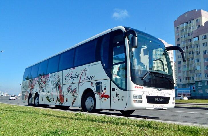 Автобус Санкт-Петербург — Таллин