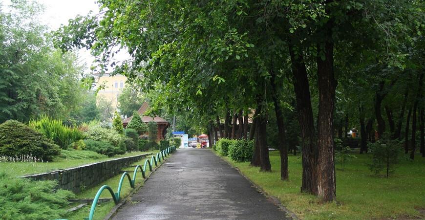 Парк имени Кирова в Новосибирске