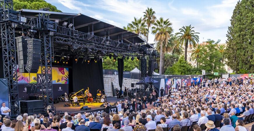 Джазовый фестиваль Ниццы