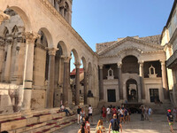 Дворец императора Диоклетиана в Сплите