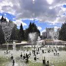 Поющий фонтан в Челябинске