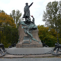"Монумент ""Помни войну"" в г. Кронштад"", Фото Первухин С.М., 2009"