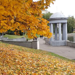 Золотая осень. Минск