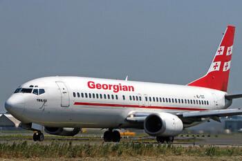 Georgian Airways потребует от Минтранса РФ компенсацию за приостановку авиасообщения